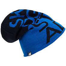 Buy Skogstad Knitted Hat, Blue/Black Online at johnlewis.com