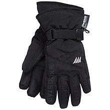Buy Skogstad Children's Two Layer Insulated Technical Gloves, Black Online at johnlewis.com