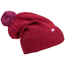 Buy Skogstad Knitted Bobble Hat, Purple Online at johnlewis.com