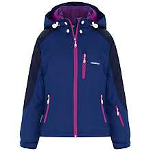 Buy Skogstad Girls' 2 Layer Jacket, Blue/Pink Online at johnlewis.com