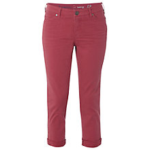 Buy White Stuff Southern Cropped Trousers, Candied Melon Online at johnlewis.com