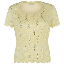 Buy Jacques Vert Raglan Seam Lace Top Online at johnlewis.com