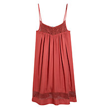 Buy Mango Openwork Dress, Medium Orange Online at johnlewis.com