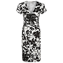 Buy Planet Mono Print Shift Dress, Black / Multi Online at johnlewis.com