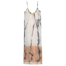 Buy Mango Tie Dye Chiffon Dress, Multi Online at johnlewis.com