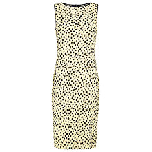 Buy Jacques Vert Spot Print Dress, Multi Yellow Online at johnlewis.com