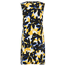 Buy Warehouse Shadow Floral Shift Dress, Multi Online at johnlewis.com