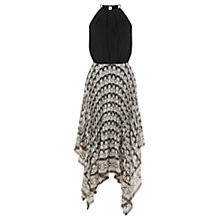 Buy Warehouse Aztec Hanky Hem Dress, Multi Online at johnlewis.com