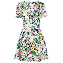 Buy Warehouse Rainforest Print Dress, Multi Online at johnlewis.com
