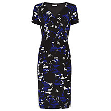 Buy Planet Pattern Wrap Dress, Multi Black Online at johnlewis.com