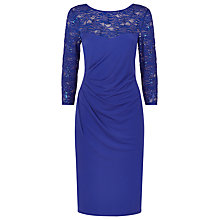 Buy Planet Lace Dress, Purple Online at johnlewis.com