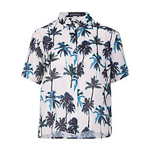 Buy Sugarhill Boutique Palm Tree Boxy Blouse, Multi Online at johnlewis.com
