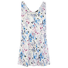 Buy Warehouse Lily Print Vest, Multi Online at johnlewis.com