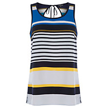 Buy Warehouse Stripe Vest, Multi Online at johnlewis.com