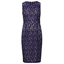 Buy Sugarhill Boutique Lace Shift Dress, Navy Online at johnlewis.com