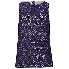 Buy Sugarhill Boutique Lacey Top, Navy Online at johnlewis.com