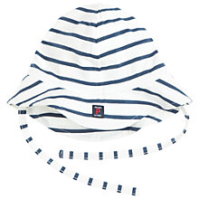 Buy Polarn O. Pyret Baby Striped Sun Hat Online at johnlewis.com