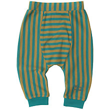 Buy Little Green Radicals Baby Striped Jelly Bean Jogger Bottoms Online at johnlewis.com