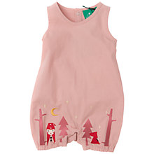 Buy Little Green Radicals Baby Little Red Riding Hood Dungarees, Pink Online at johnlewis.com