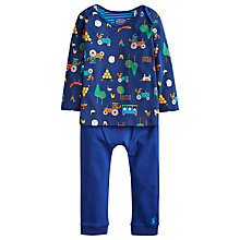 Buy Little Joule Baby's Hector Farm Outfit, Multi Online at johnlewis.com