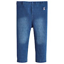 Buy Little Joule Minnie Denim Leggings, Multi Online at johnlewis.com