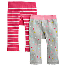 Buy Baby Joule Cat and Mouse Leggings, Pack of 2 Online at johnlewis.com