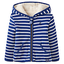 Buy Baby Joule Reversible Stripe Fleece, Blue/White Online at johnlewis.com
