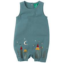 Buy Little Green Radicals Baby Enchanted Wood Dungarees, Blue Online at johnlewis.com