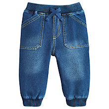 Buy Baby Joule Baby's Hugo Jersey Jeans, Blue Online at johnlewis.com