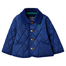Buy Baby Joule Milton Quilted Jacket, Navy Online at johnlewis.com