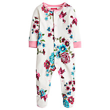 Buy Baby Joule Razmataz Flower Sleepsuit, Multi Online at johnlewis.com
