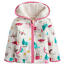 Buy Baby Joule Horse Print Reverse Fleece Jacket, Multi Online at johnlewis.com