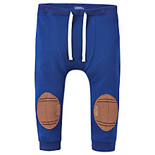 Buy Baby Joule Baby's Twickers Knee Joggers, Blue Online at johnlewis.com