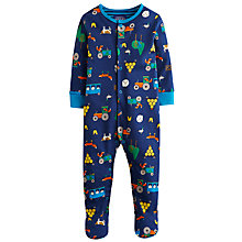 Buy Little Joule Ziggy Farm Sleepsuit, Multi Online at johnlewis.com