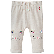 Buy Baby Joule Pattie Mouse Knee Joggers, Grey Online at johnlewis.com