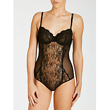 Buy COLLECTION by John Lewis Genevieve Lace Body, Black Online at johnlewis.com
