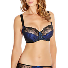 Buy Fantasie Elodie Underwired Full Cup Bra, Cobalt Blue Online at johnlewis.com