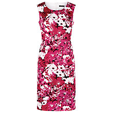 Buy Precis Petite Sleeveless Cotton Dress, Raspberry Sherbet Online at johnlewis.com