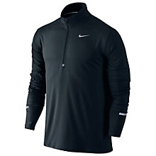 Buy Nike's Dri-FIT Element Half-Zip Long Sleeve Running Top Online at johnlewis.com