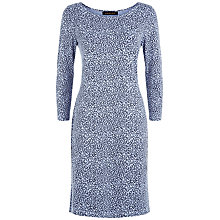 Buy Jaeger Little Leopard Dress, Eventide Online at johnlewis.com