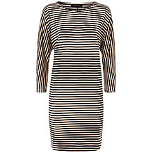 Buy Jaeger Stripe Batwing Dress Online at johnlewis.com