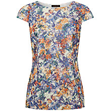 Buy Jaegar Floral Shift Top, Multi Bright Online at johnlewis.com