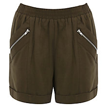 Buy Warehouse Jogger Shorts, Khaki Online at johnlewis.com