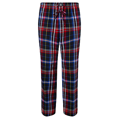 Polo Ralph Lauren Plaid Flannel Check Pyjama Pants, Multi-coloured