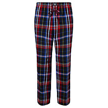 Buy Polo Ralph Lauren Plaid Flannel Check Pyjama Bottoms, Multi Online at johnlewis.com