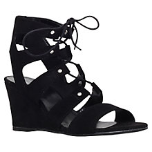 Buy Carvela Khristie Lace Up Wedge Heeled Sandals Online at johnlewis.com