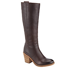 Buy Collection WEEKEND by John Lewis Long Leather Knee High Boots, Brown Online at johnlewis.com