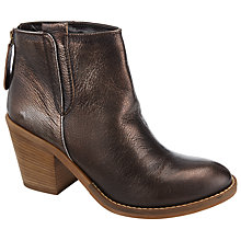Buy John Lewis Poissy Leather Ankle Boots Online at johnlewis.com