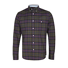 Buy Dockers Oxford Check Shirt, Nightwatch Blue Online at johnlewis.com