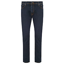 Buy Hackett London Newburg Classic Rinse Jeans, Blue Online at johnlewis.com